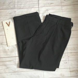 haggar mens 38 x 29 classic fit dark grey pants ca